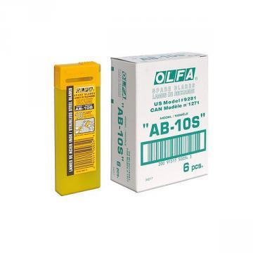 Режеща пластина, OLFA AB 10S, 10 бр.