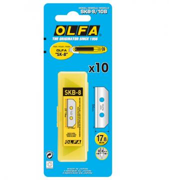 Режеща пластина,OLFA SKB 8 10B, 10 бр. в блистер