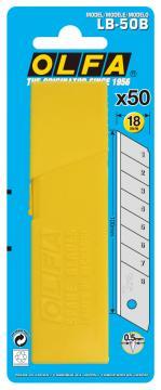 Режеща пластина, OLFA LB 50, 50 бр. в блистер
