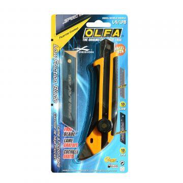 Макетен нож HEAVY, OLFA L5, 18 mm, LB, LBB, PROMO LFB