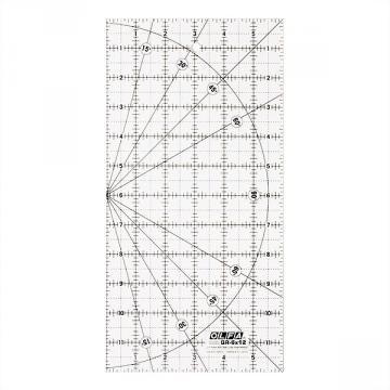 """Правоъгълник размерен OLFA QR 6x12, 6"""" х 12"""""""