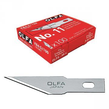 Режеща пластина, OLFA KB 4 S, 100 бр. в блистер