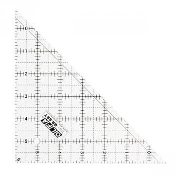 Триъгълник правоъгълен, OLFA QR 6 RT, 165 x 165 mm