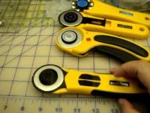 Усетете разликата между ръкохватките на различните ротационни ножове