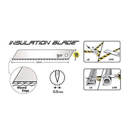 Режеща пластина OLFA LWB 3B, 3