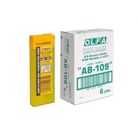 Режеща пластина, OLFA AB 10S,