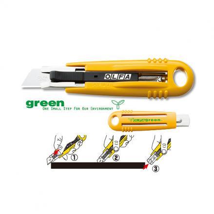 Макетен нож, OLFA SK 4 GREEN,