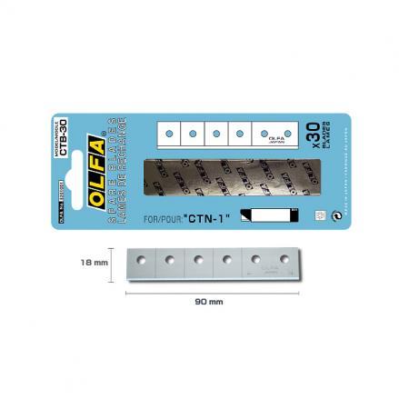 Режеща пластина, OLFA CTB 30,